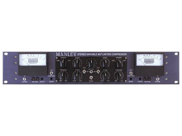 MANLEY STEREO VARIABLE-MU COMP w/T-Bar Option【T-Barオプション搭載バージョン】【国内正規品】【受注発注品・納期1ヶ月程】