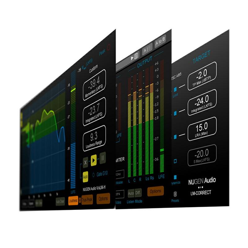 NUGEN Audio Loudness Toolkit 2 DSP【オンライン納品専用】※代金引換はご利用頂けません。