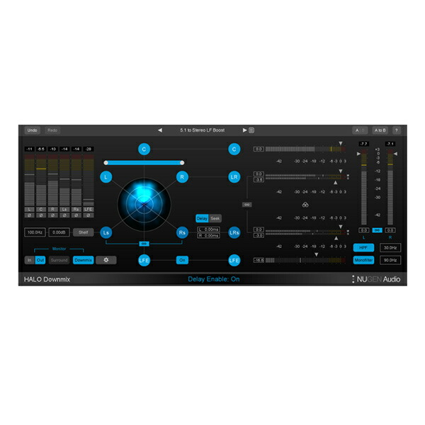 NUGEN Audio Halo Downmix【オンライン納品専用】