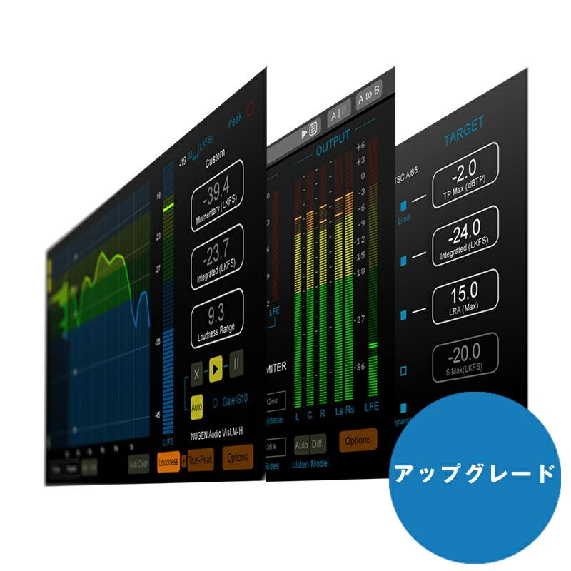 NUGEN Audio Loudness Toolkit 2 Upgrade from Loudness Toolkit 1【オンライン納品専用】※代金引換はご利用頂けません。