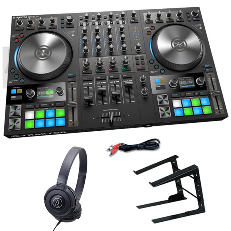 Native Instruments TRAKTOR KONTROL S4 MK3 デジタルDJスタートセットD【選べる特典プレゼント中!】【p10】[NI201809]