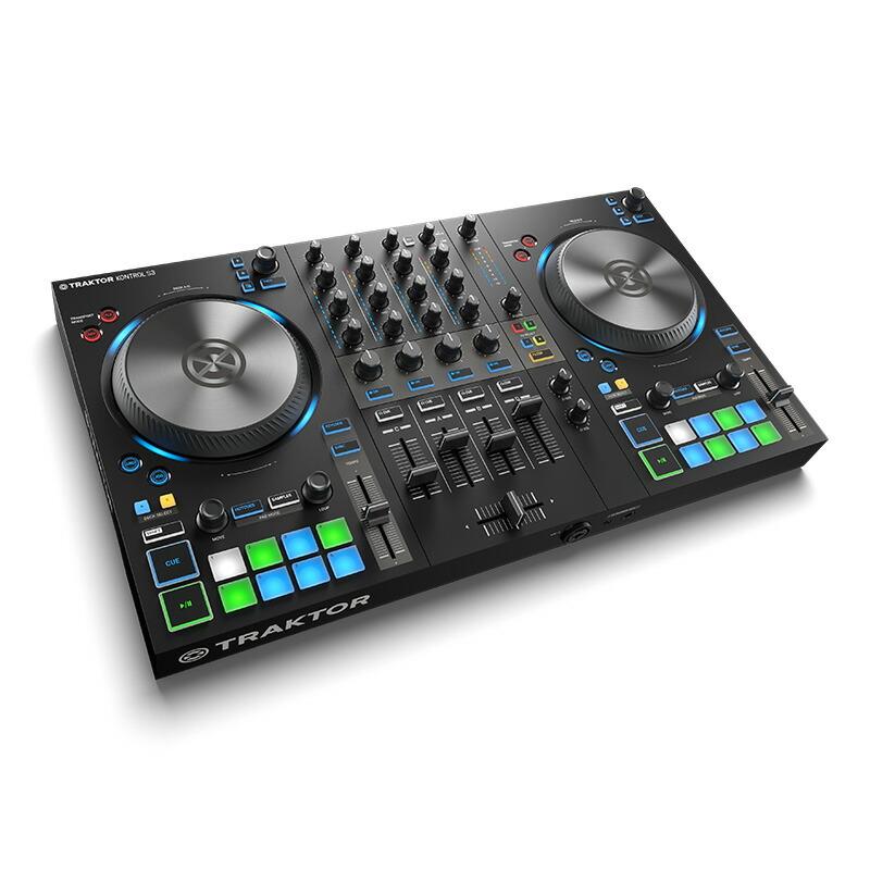 Native Instruments TRAKTOR KONTROL S3 【あす楽対応】【土・日・祝 発送対応】