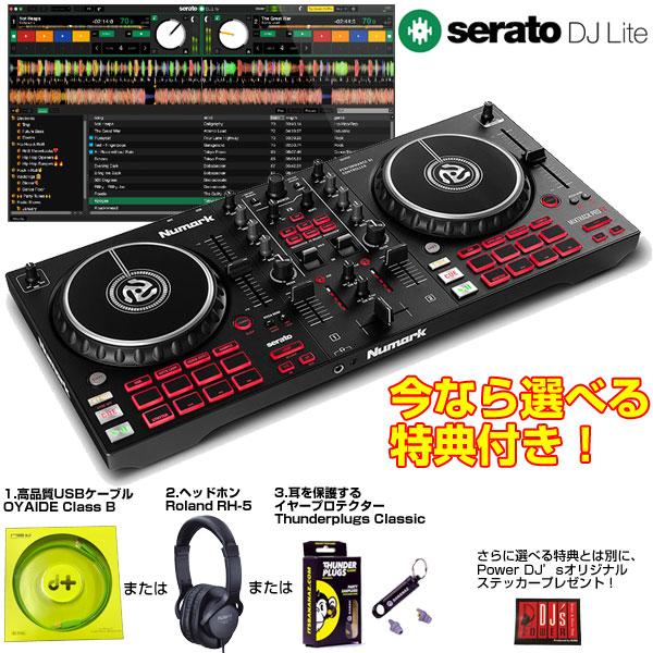 Numark MIXTRACK PRO FX【今なら選べる特典付き!】【Serato DJ Lite対応】【使い方チュートリアル搭載】
