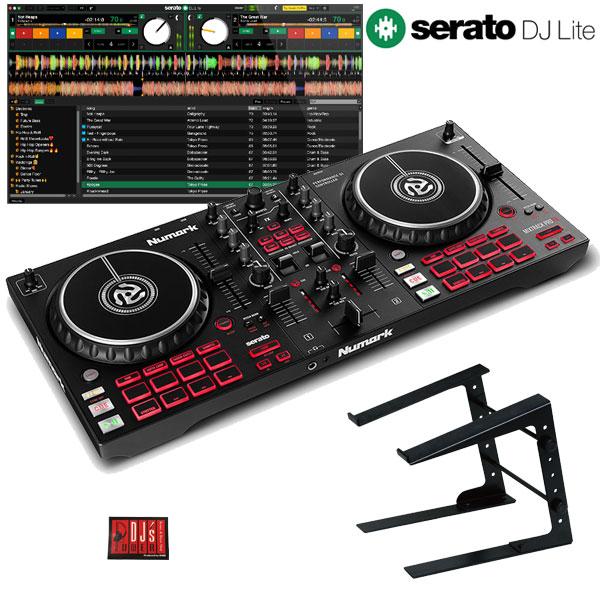 Numark MIXTRACK PRO FX + PCスタンドセット 【Serato DJ Lite対応】【使い方チュートリアル搭載】