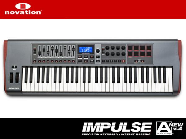 novation IMPULSE 61【61鍵盤】