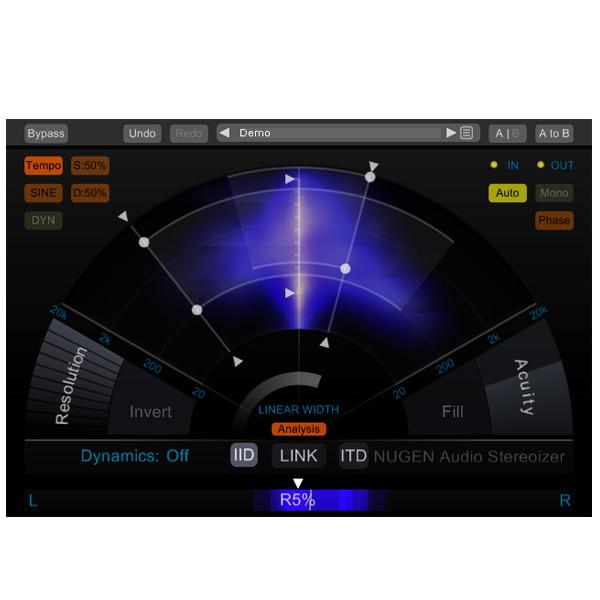 NUGEN Audio Stereoizer 【オンライン納品専用】