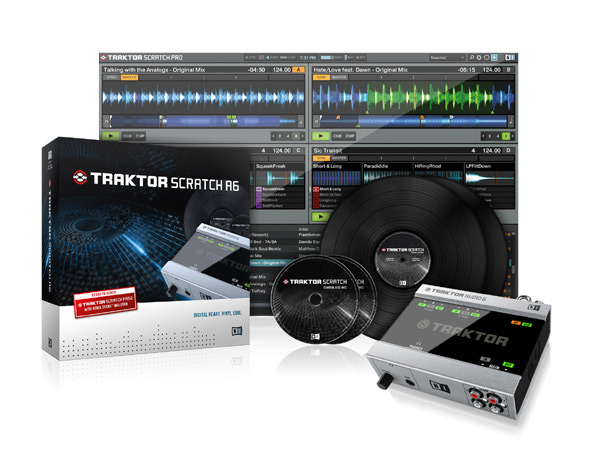 最安値で  Native Native Instruments TRAKTOR SCRATCH A6 TRAKTOR【LAPTOPスタンドプレゼント中! SCRATCH】【p5】, 徳綿寝装店:0b280a8b --- totem-info.com