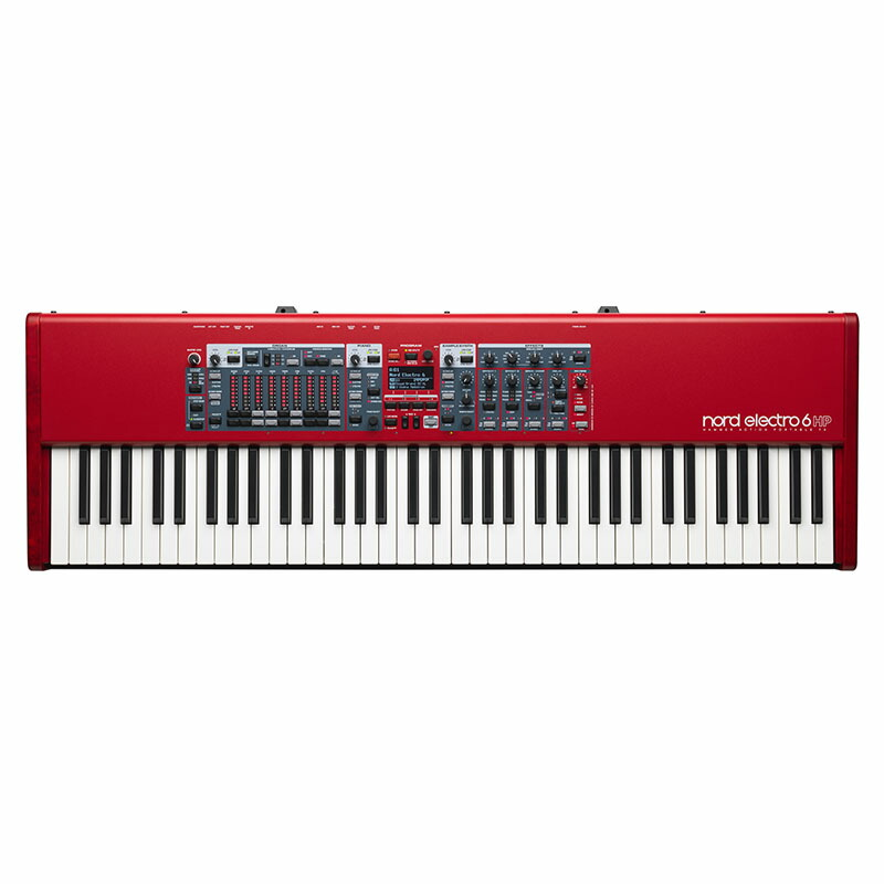 Nord(CLAVIA)NORD Electro 6 HP 73【期間限定!Nordオリジナルイヤホンプレゼント!(要応募)】【p5】