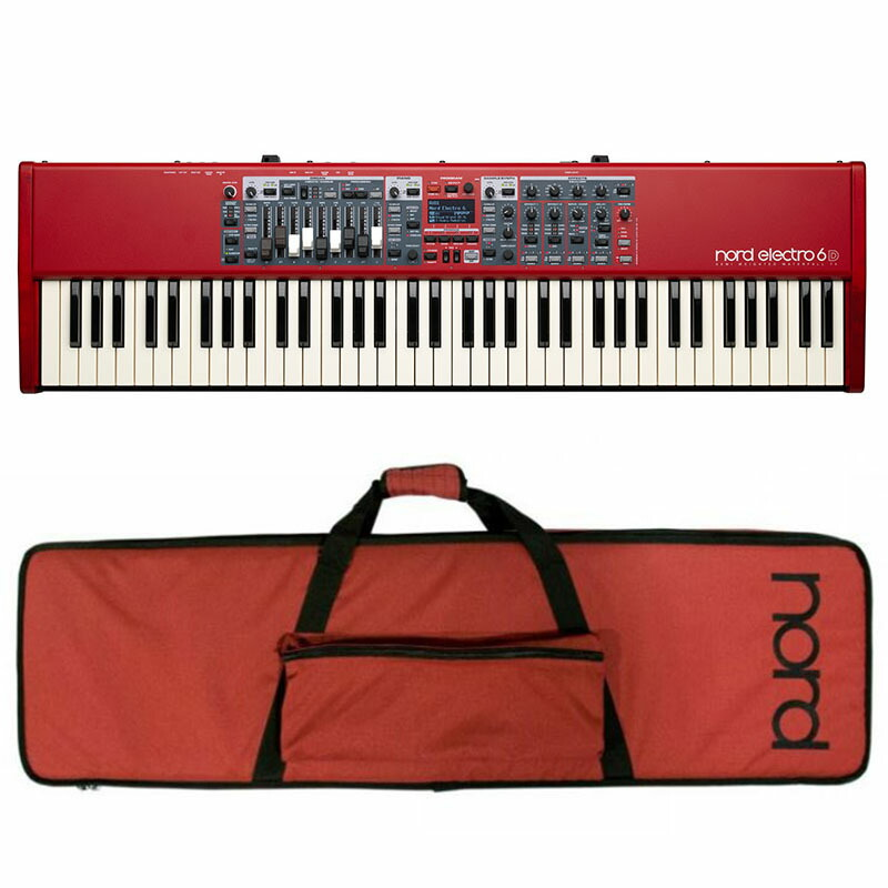Nord(CLAVIA) Nord Electro 6D 73+専用ソフトケースセット【期間限定!Nordオリジナルイヤホンプレゼント!(要応募)】【p5】