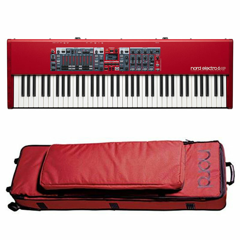 Nord(CLAVIA)Nord Electro 6 HP 73+専用ソフトケースセット【期間限定!Nordオリジナルイヤホンプレゼント!(要応募)】【p5】