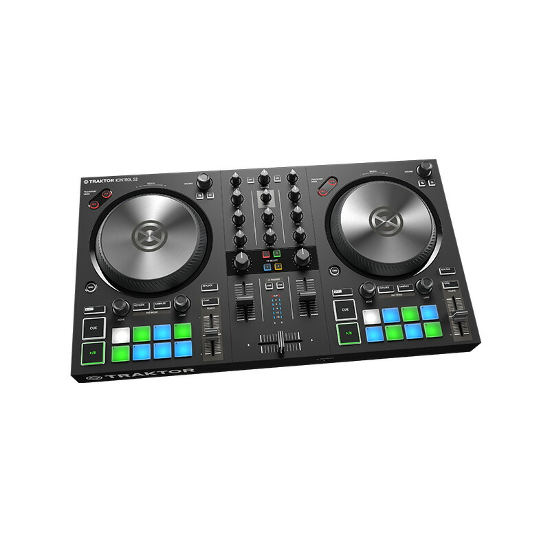 Native Instruments TRAKTOR KONTROL S2 MK3【選べる特典プレゼント中!】【p10】[NI201809]