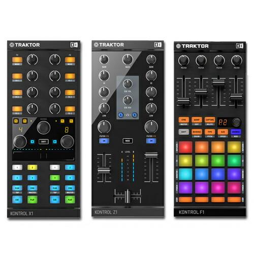 Native Instruments TRAKTOR KONTROL Z1 + X1 MK2 + F1【p5】
