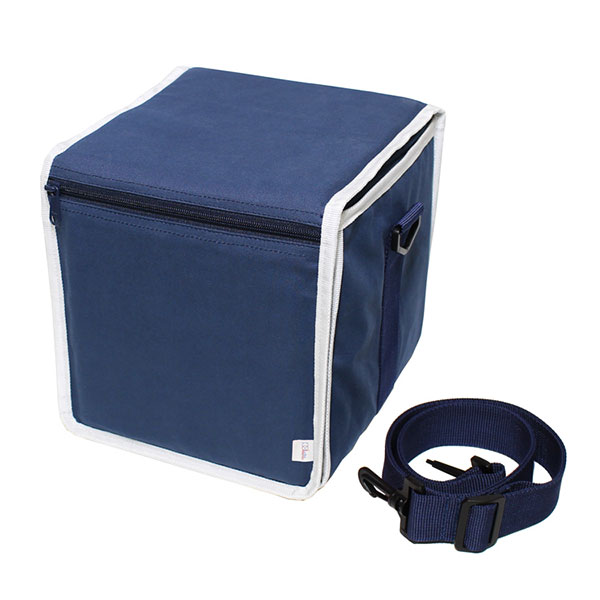 production dessinee 45 Bag III(PDG-056CNW[Navy x White])
