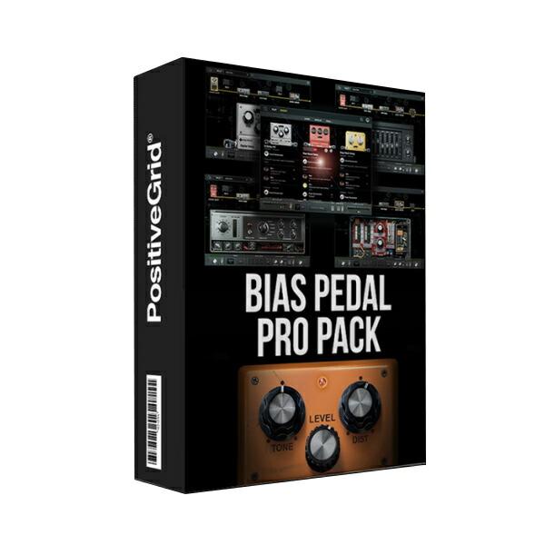Positive Grid BIAS Pedal Pro Pack【オンライン納品専用】※代金引換はご利用頂けません。