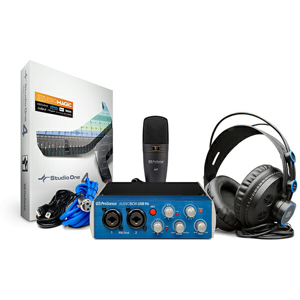 PreSonus PreSonus AudioBox Studio AudioBox USB 96 Studio, ヒガシカモグン:cb647479 --- makeitinfiji.com