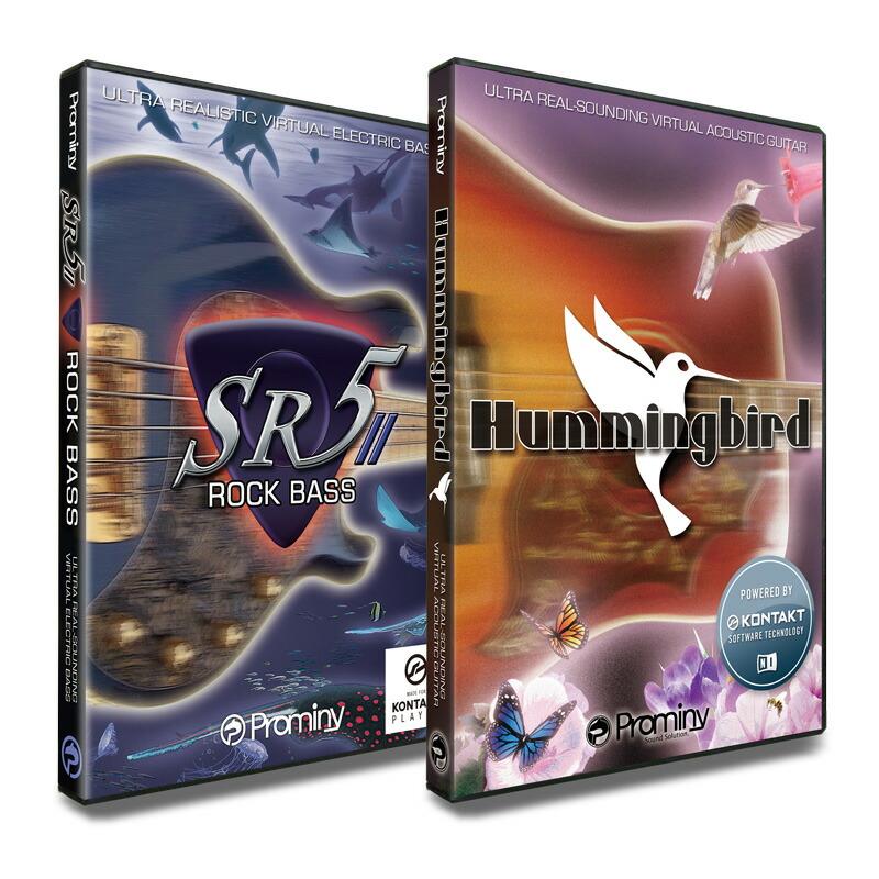Prominy SR5 Hummingbird & SR5 Rock Bass Bass 2 スペシャルバンドル(オンライン納品専用)※代金引換、後払いはご利用頂けません Prominy。, ちかもんくん さつまいも:fb69ed74 --- sunward.msk.ru