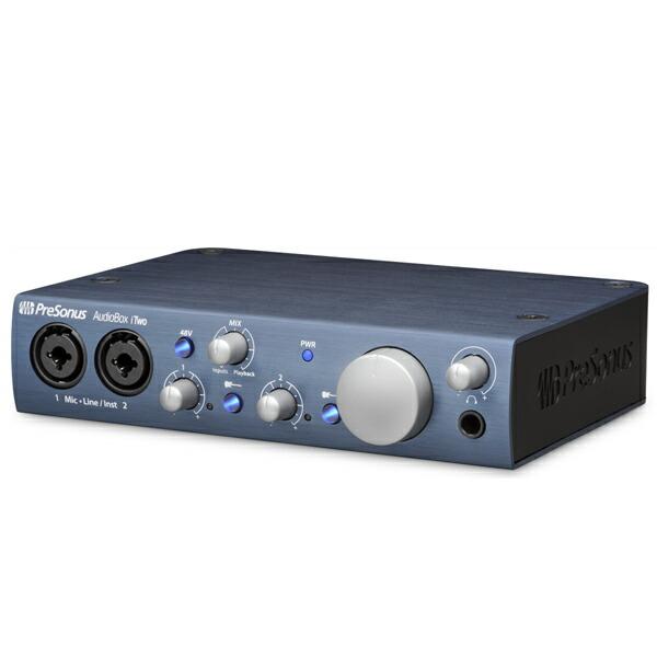 PreSonus AudioBox iTwo【Studio Magicプラグイン・スイート無償提供】【予約商品・4月下旬予定】