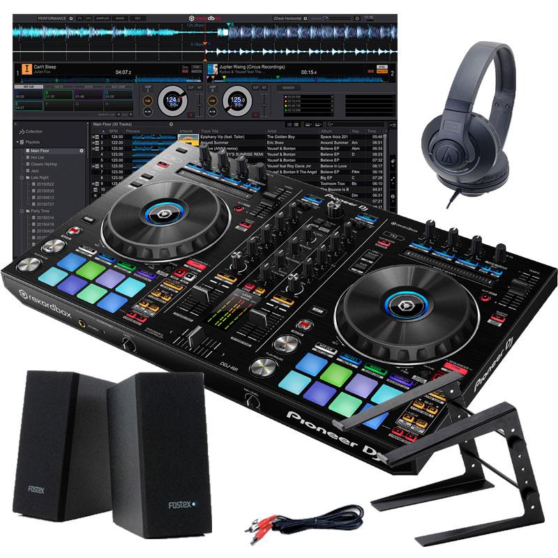 Pioneer DJ DDJ-RR デジタルDJスタートセットA【初心者向け教則本rekordboxパーフェクトガイドと高品質EXFORM 国産USB ケーブルプレゼント!】【ddj_0520】