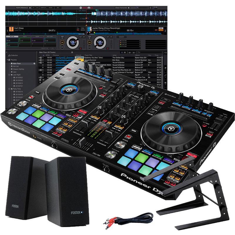 Pioneer DJ DDJ-RR デジタルDJスタートセットC【初心者向け教則本rekordboxパーフェクトガイドと高品質EXFORM 国産USB ケーブルプレゼント!】【ddj_0520】