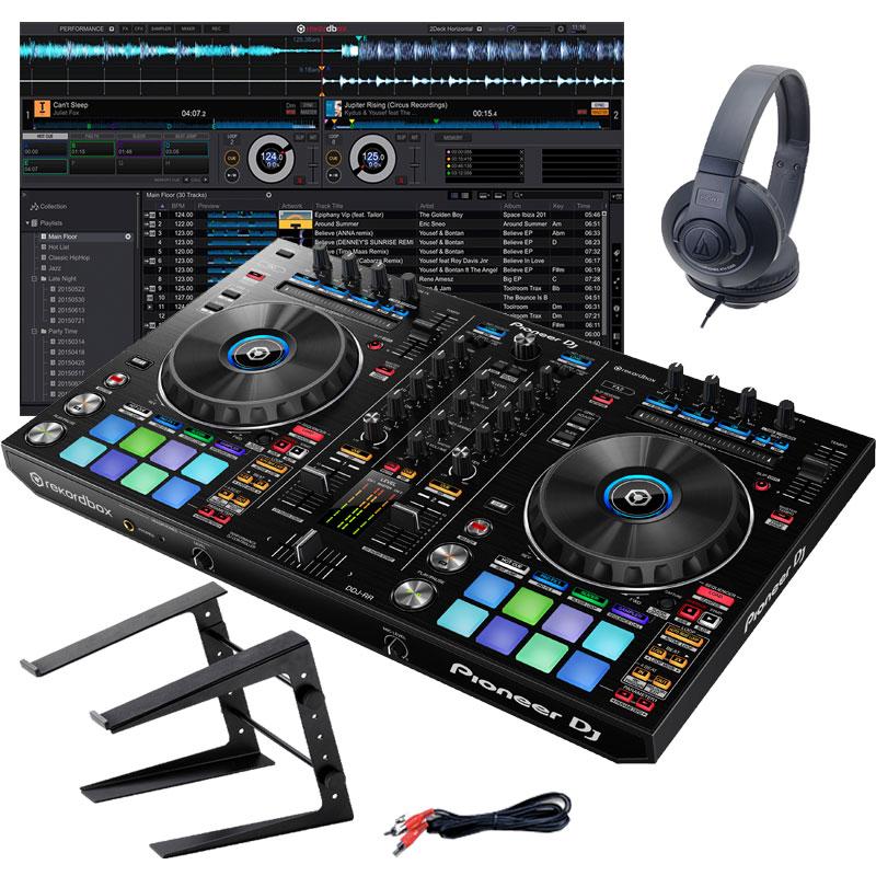 Pioneer DJ DDJ-RR デジタルDJスタートセットD【初心者向け教則本rekordboxパーフェクトガイドと高品質EXFORM 国産USB ケーブルプレゼント!】【ddj_0520】