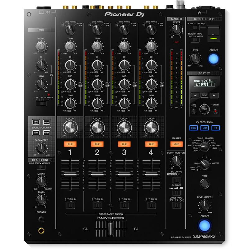 Pioneer DJ DJM-750MK2【OYAIDE B d+USB Pioneer class B ケーブル(1.0m)×1本プレゼント! DJ】【あす楽対応】【土・日・祝 発送対応】, RODA(ホーダ):832df48b --- officewill.xsrv.jp