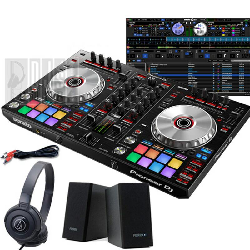 Pioneer DJ DDJ-SR2デジタルDJスタートセットB【Serato DJパーフェクトガイドプレゼント!】