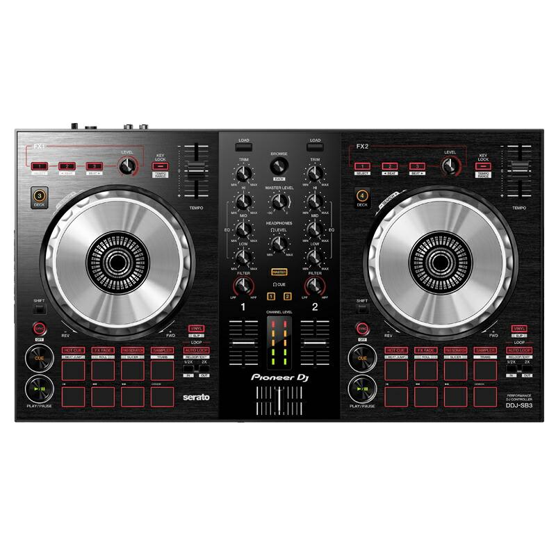 Pioneer DJ DDJ-SB3 + Serato DJ Pro ライセンスセット【あす楽対応】【土・日・祝 発送対応】