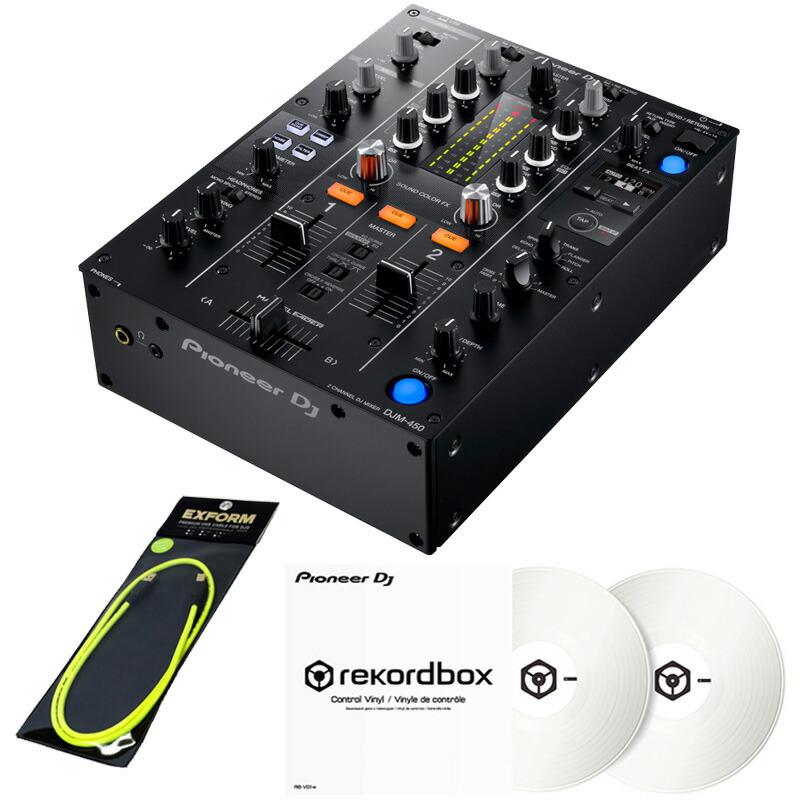 Pioneer DJ DJM-450 +コントロールヴァイナルRB-VD1-W DVS SET【あす楽対応】【土 DJ DJM-450・日・祝 発送対応】, チェルシー(Chelsea):e9100f15 --- officewill.xsrv.jp