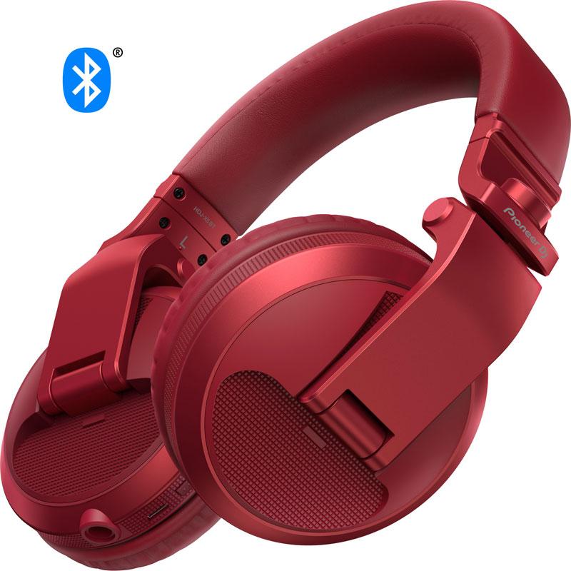 Pioneer DJ HDJ-X5BT-R(メタリックレッド)【あす楽対応】【土・日・祝 発送対応】
