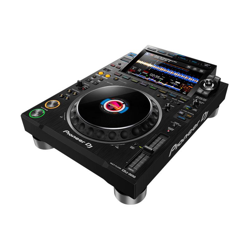 DJの創造性を最大限に引き出し 音楽の可能性を広げる 次世代フラグシップマルチプレーヤー Pioneer DJ CDJ-3000 RCAケーブルプレゼント ご購入特典:本体保護カバーDECKSAVER USBケーブル 高品質オヤイデ製 ikbp1 『1年保証』 WEB限定