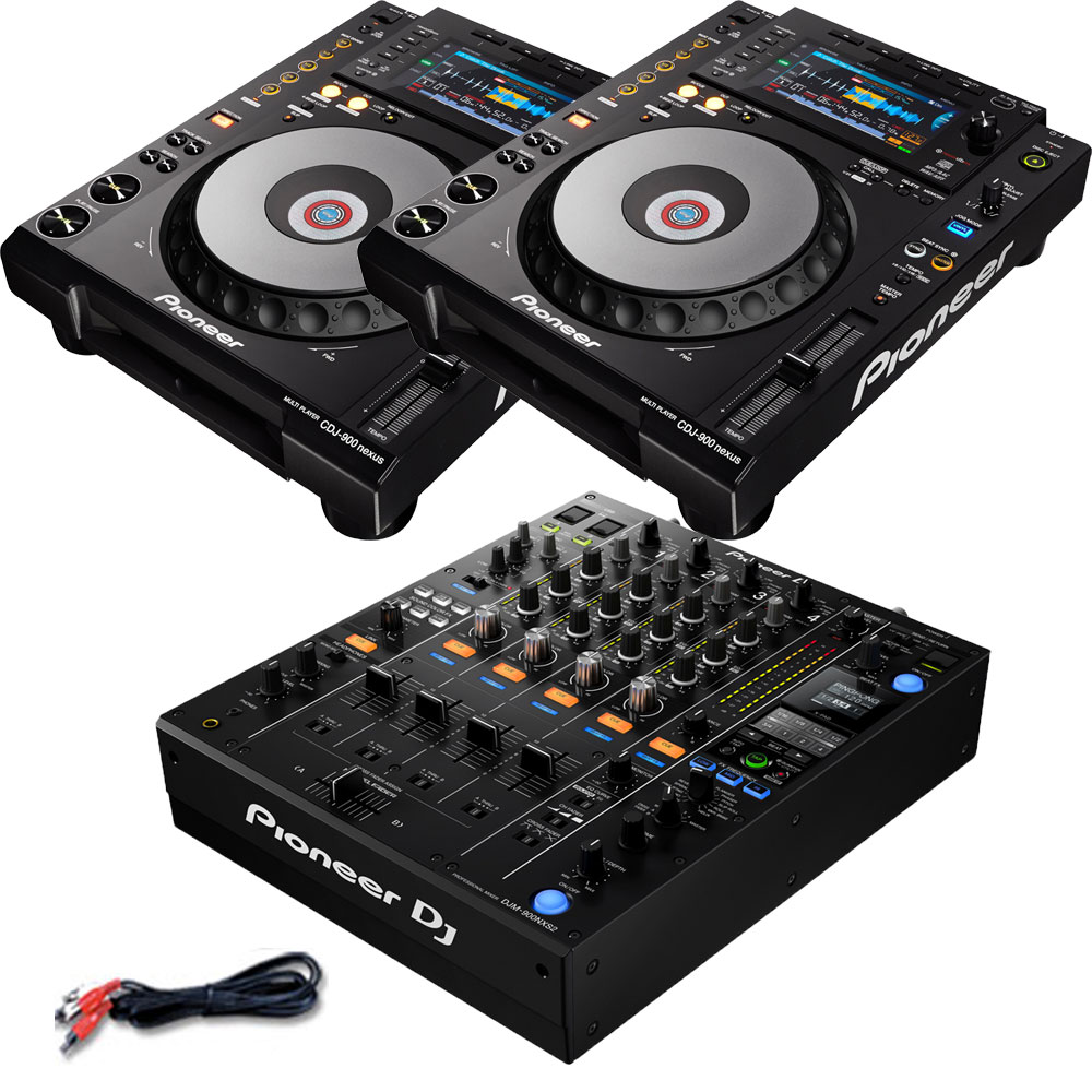 プロフェッショナルDJミキサーを組み合わせた高音質SET Pioneer OUTLET SALE DJ WEB限定 ikbp1 CDJ-900NXS+DJM-900NXS2