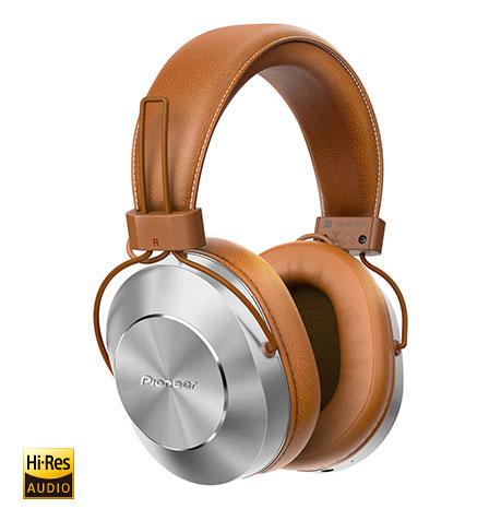 Pioneer SE-MS7BT-T【Bluetoothハイレゾヘッドホン】【ブラウン】