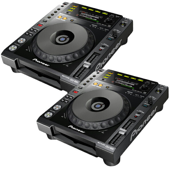 Pioneer DJ CDJ-850-K TWIN SET★4GBのUSBフラッシュメモリをプレゼント!★