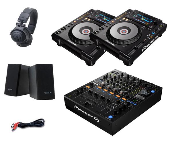 Pioneer DJ CDJ-900NXS + DJM-900NXS2 Pioneer セット(スピーカー & & DJ ヘッドホン付), ペットフードペット用品のcocoro:52589389 --- officewill.xsrv.jp