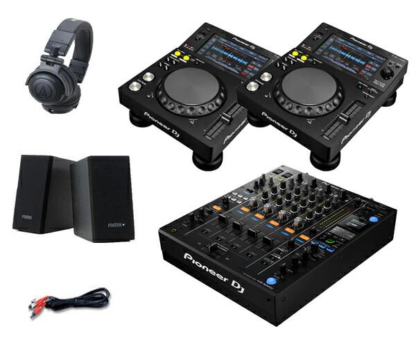 Pioneer DJ XDJ-700 + DJM-900NXS2 セット(スピーカー & ヘッドホン付)