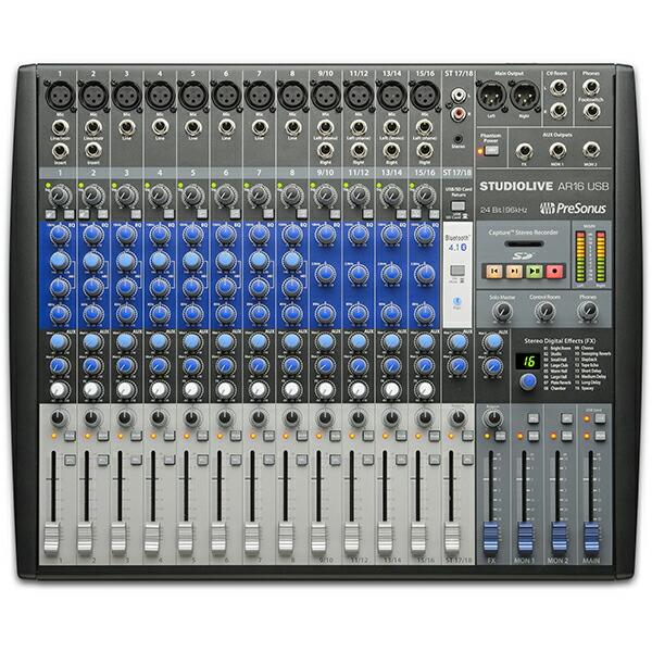 PreSonus StudioLive AR16【Studio Magicプラグイン・スイート無償提供】【数量限定!専用キャリングバッグプレゼント中!】
