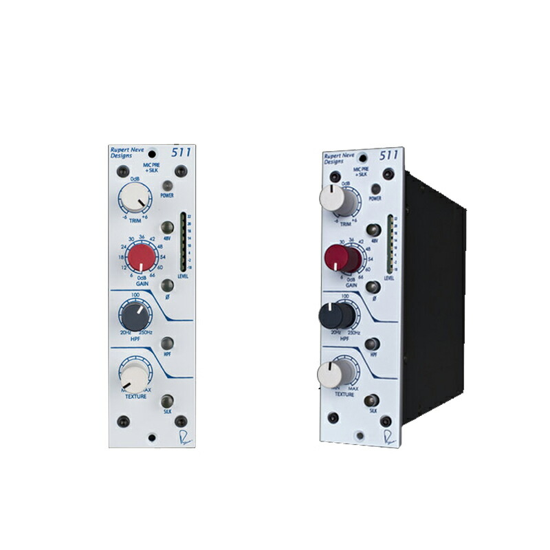 Rupert Neve Designs 511 (500 Series Mic Pre with Silk)(VPR Alliance)【国内正規品】