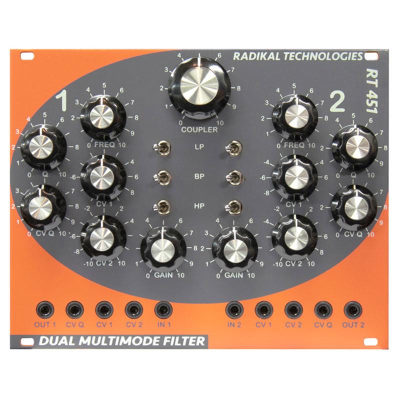 RADIKAL TECHNOLOGIES RT-451 Dual Multimode Filter【お取り寄せ商品】