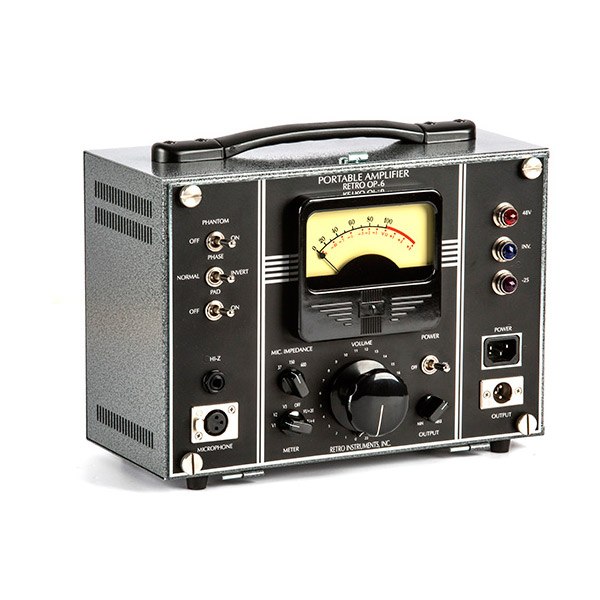 Retro Instruments Retro OP-6 Portable Amplifier【期間限定!プロモ対象のハイエンドケーブルプレゼント中】