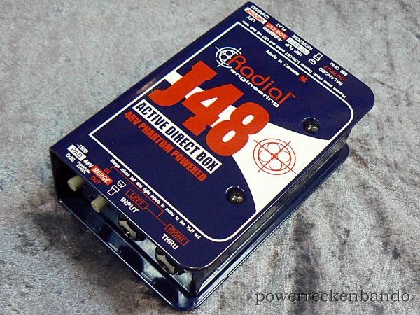 【はこぽす対応商品】 Radial Radial J48 ACTIVE ACTIVE DIRECT DIRECT BOX【国内正規品】【p5】, シルクカシミヤ夢回廊:b6b7124b --- canoncity.azurewebsites.net
