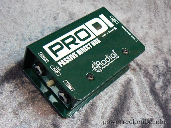 Radial PRO DI【p5】