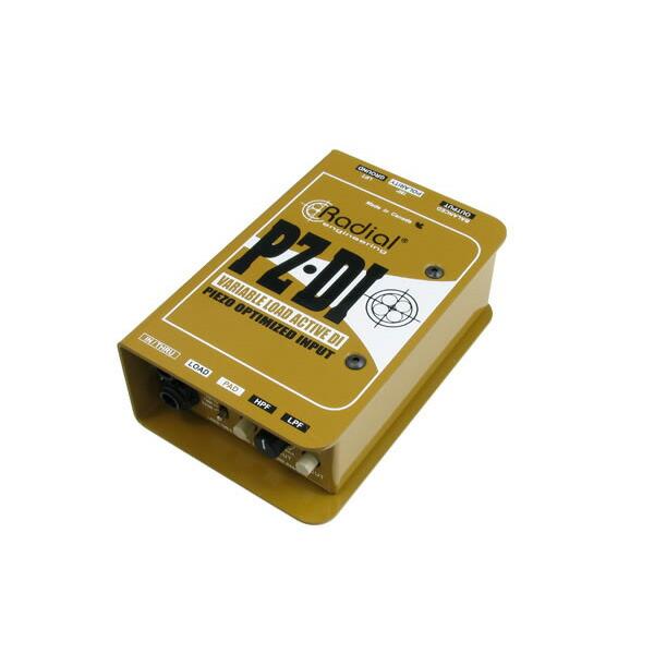 Radial PZ-DI ピエゾPU対応DIボックス【p5】