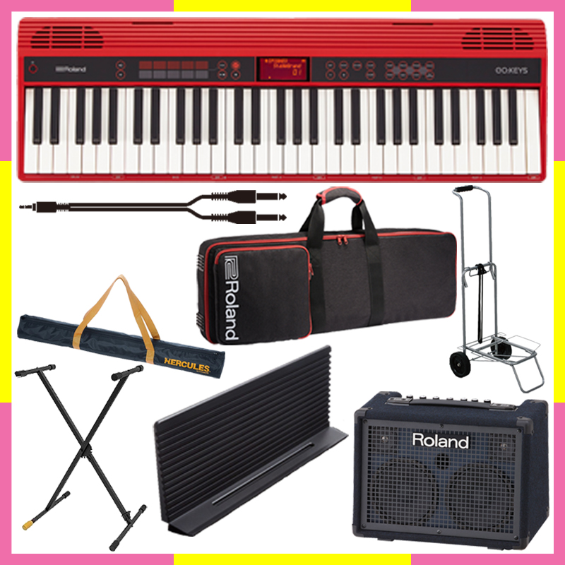 Roland GO:KEYS Entry Keyboard (GO-61K)【ストリートセット】