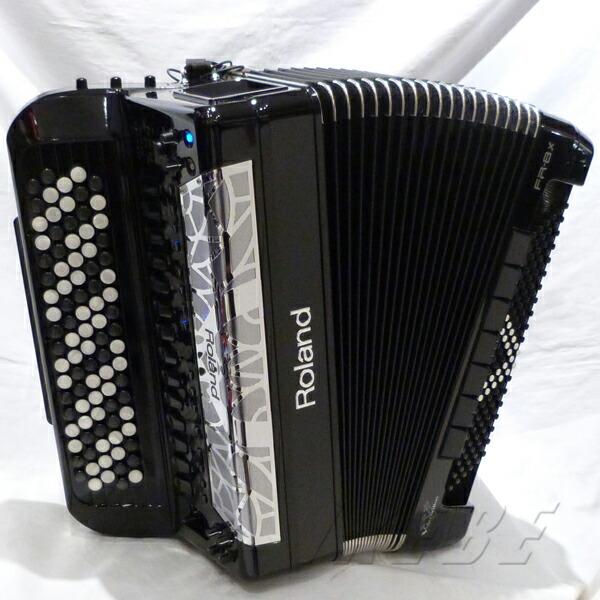 Roland FR-8xb BK ブラック【1台限定・開封アウトレット品超特価!】【ボタンタイプVアコーディオン】【決算大激売セール!】