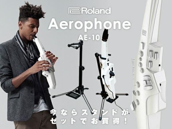 Roland Aerophone AE-10【数量限定・交換用マウスピース(ハードタイプ)&スタンド付き!】 【p10】【あす楽対応】