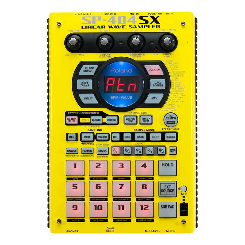 Roland SP-404SX(イエロー×ブラック) 【台数限定!限定カラーパネルモデル】
