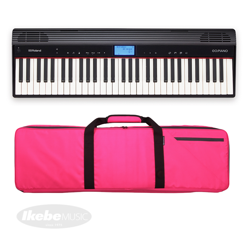 Roland GO:PIANO Entry Keyboard (GO-61P)+【Noah'sark ソフトケース(PK)セット】【p10】