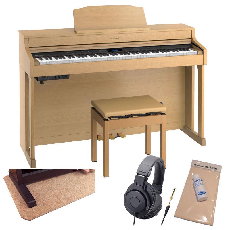 Roland HP603A-NBS [ナチュラルビーチ調仕上げ]【数量限定!豪華3大特典+汎用ピアノマットセット!】【全国配送・組立設置無料(※沖縄・離島は除く)】※代金引換はご利用いただけません【p10】