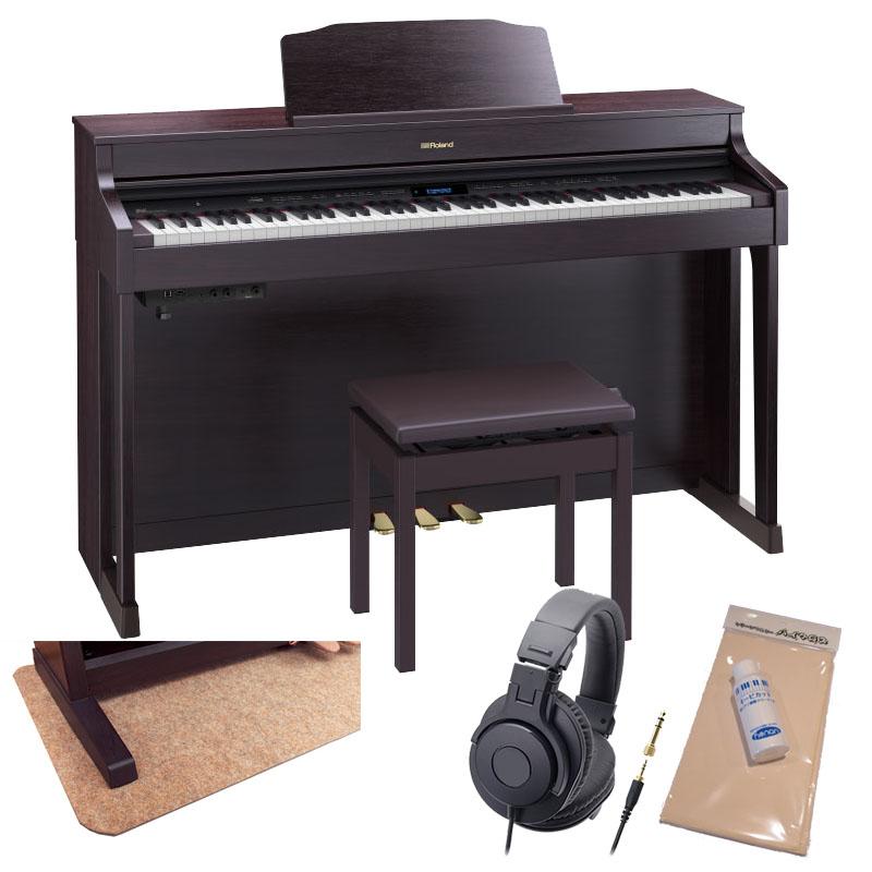 Roland HP603A-CRS [クラシックローズウッド調仕上げ]【数量限定!豪華3大特典+汎用ピアノマットセット!】【全国配送・組立設置無料(※沖縄・離島は除く)】【p10】
