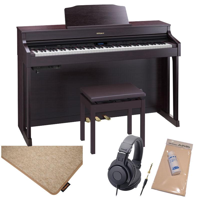 Roland HP603A-CRS [クラシックローズウッド調仕上げ]【純正ピアノ・マット(HPM-10)セット】【数量限定!豪華3大特典付き!】【全国配送・組立設置無料(※沖縄・離島は除く)】【p10】